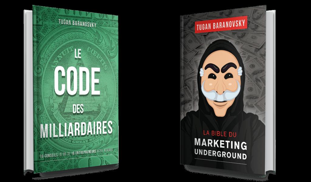 La bible du marketing underground et le code des milliardaires