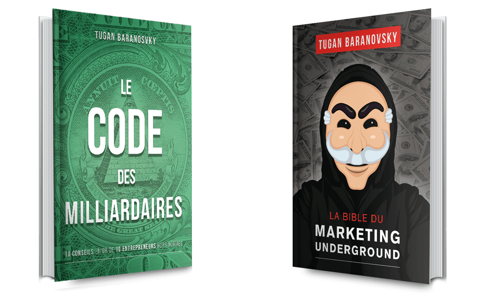 La bible du marketing underground et le code des milliardaires