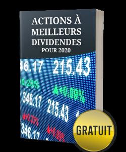 Bonus #5: actions à meilleurs dividendes pour 2020