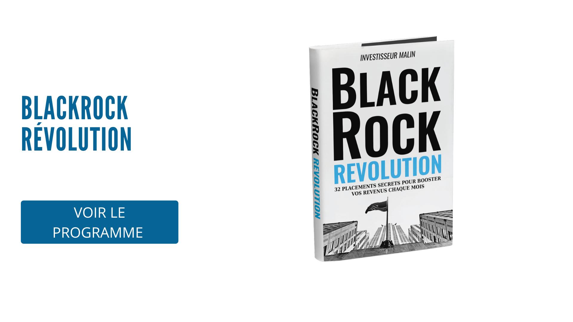 Programme Blackrock révolution