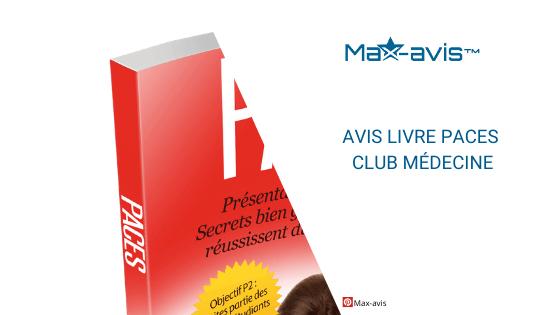 Livre PACES club médecine avis