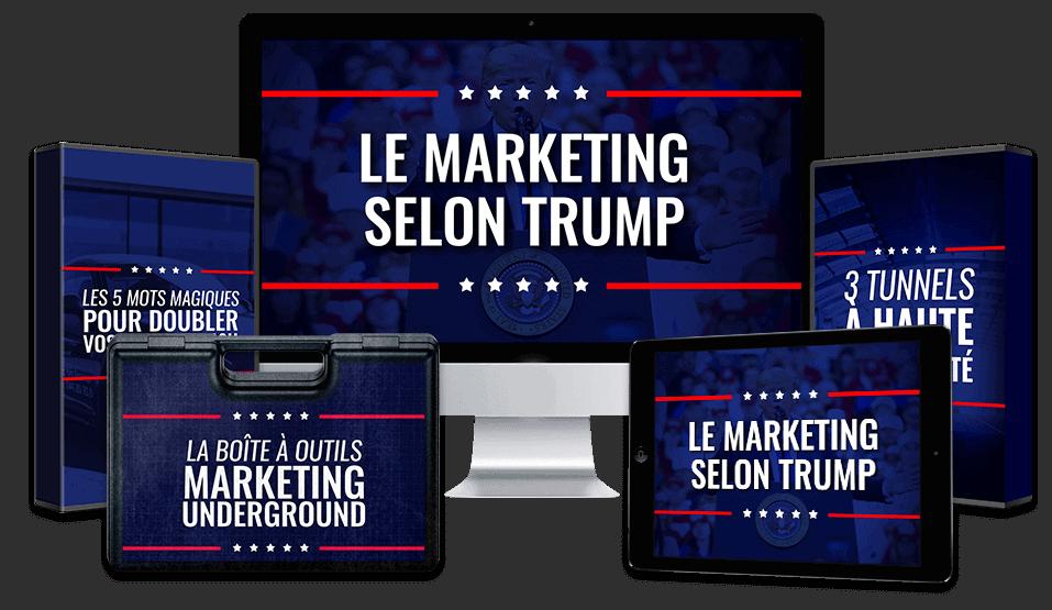le marketing selon Trump avis