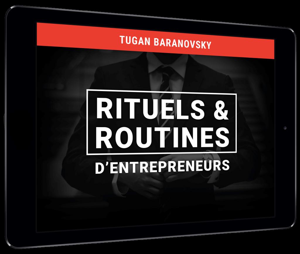Bonus #4: Rituels & routines d'entrepreneurs