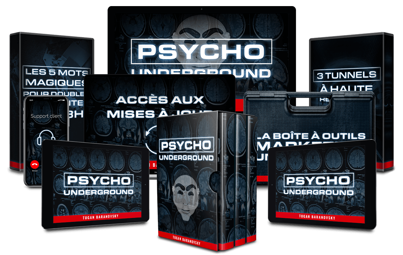 Je commande le programme Psycho Underground avis