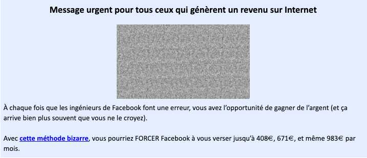 Comment gagner de l'argent en détournant Facebook? Avec le protocole Shenzhen