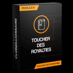 Module 6: toucher des Royalties (4 heures)