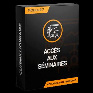 Module 7: accès aux séminaires de Raphaël Carteni