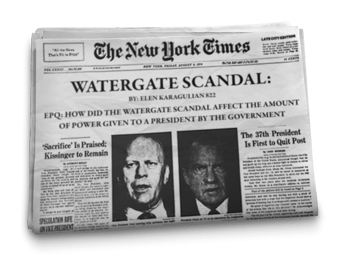 L'histoire du Watergate