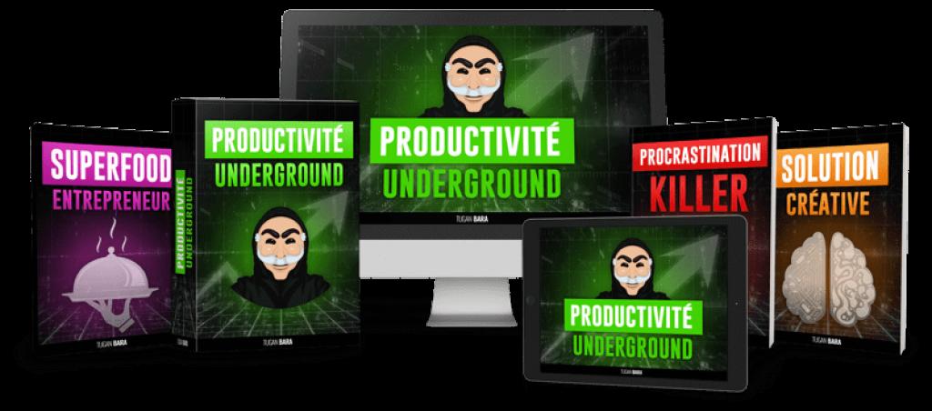 Le programme productivité underground avis final