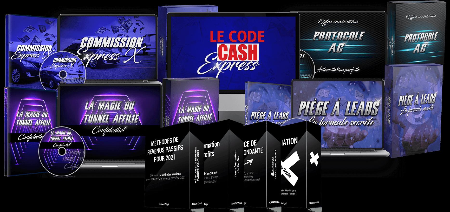 Code Cash Express avec nouveaux bonus