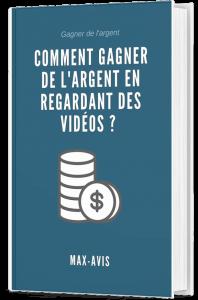 Comment gagner de l'argent en regardant des vidéos ? livre