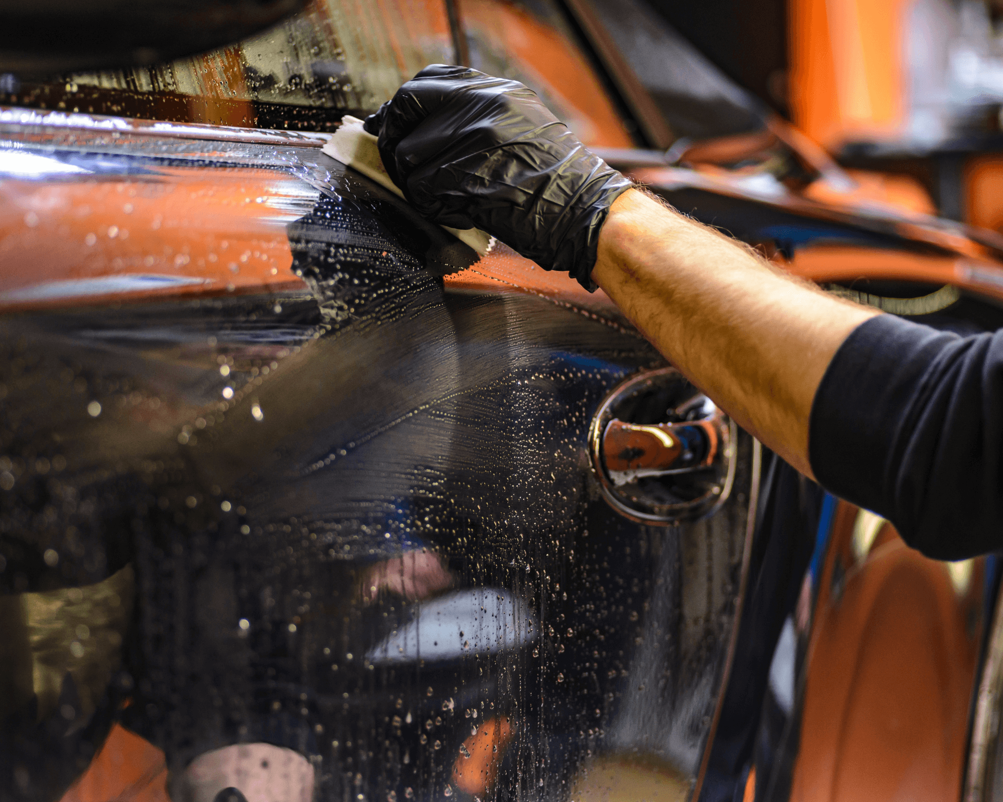 Le lavage de véhicule