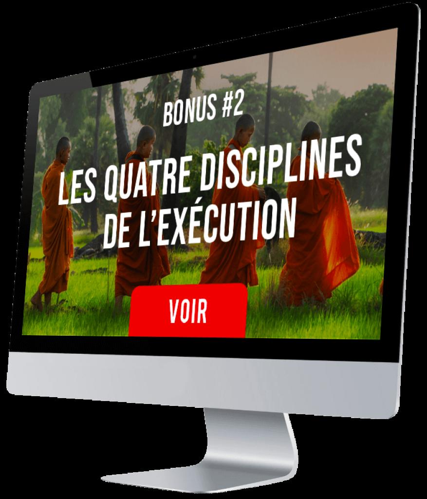 Revenus exponentiels Tugan Bara arnaque : les quatre disciplines de l'exécution