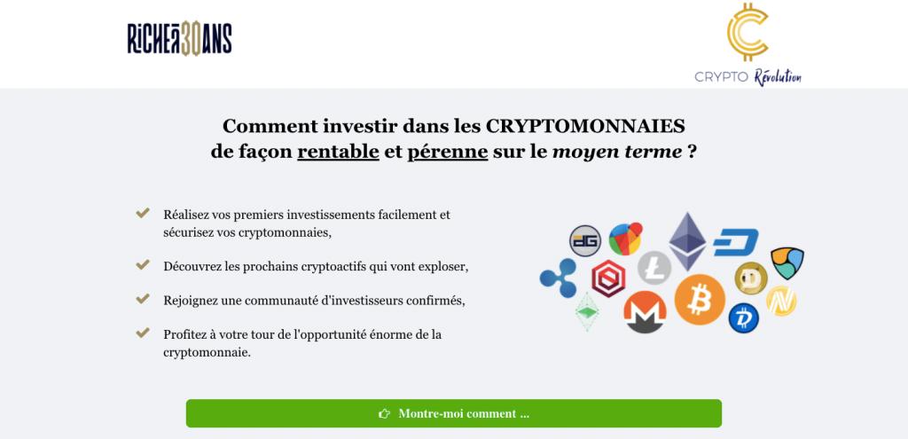 programme CryptoRevolution avis